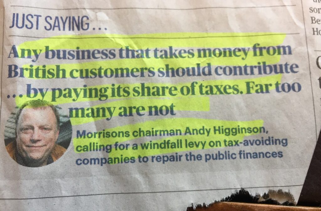 What a great thought.   Imagine if everyone paid their fair share, (and dismissed their greed) how much better off we would be as a nation!