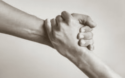WHEN SOMEONE LENDS A HAND TO HELP