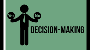 HOW TO MAKE FIRM DECISIONS